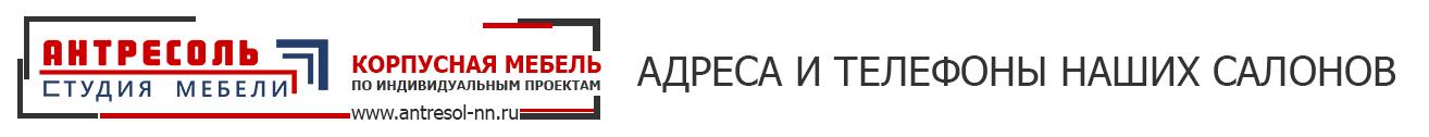 корпусная мебель на заказ в Нижнем Новгороде